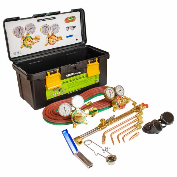 Deluxe Medium Duty Torch Kit Forney Industries
