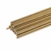 Gas Brazing Rod, Low Fuming Bare Brass, 1/8