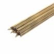 Gas Brazing Rod, Low Fuming Bare Brass, 3/32