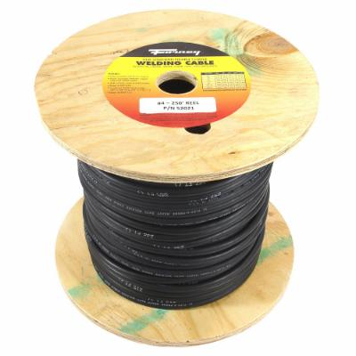Welding Cable, #4, 250' Reel (32516)