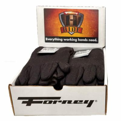Jersey Gloves, 8 oz., 12-Piece Box Display (Size L/XL)