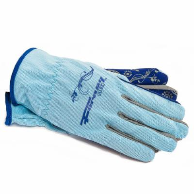 Blue Gel Palm Utility Work Gloves (Women's M)
