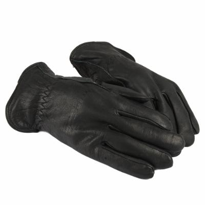 Lined Premium Cowhide Leather Driver Work Gloves (Men's XL)