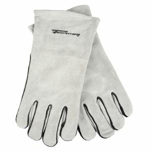 Gray Leather Welding Gloves (Men's XL)