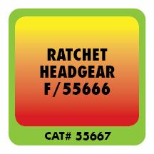 Ratchet Headgear for Forney CAT# 55666