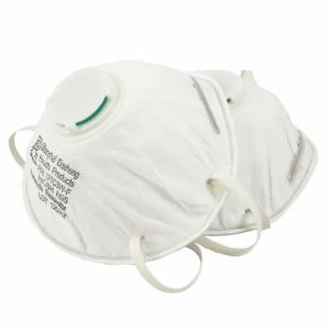 N95 Respirator with Exhale Valve, 2-Pack
