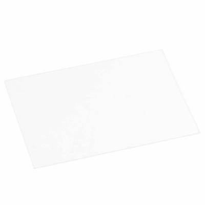 "Replacement Cover Lens, 4-7/16"" x 3-1/8"", Clear Plastic"