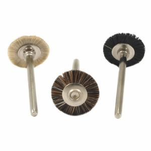 3-Piece Natural Bristle Brush Set