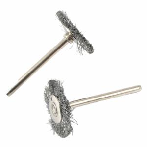 2-Piece Wire Brush, Steel Set, 1