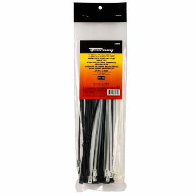 "Cable Ties, 8"" and 11"" Releasable Standard Duty Assortment"
