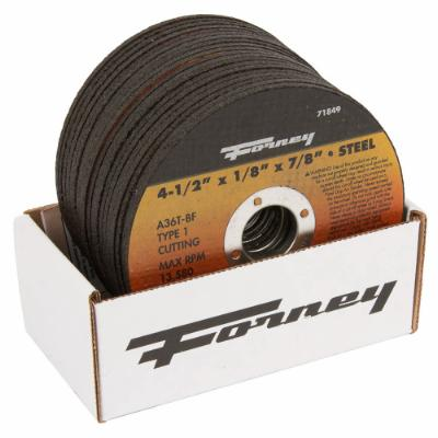"Box of 20 Forney 71849 (4-1/2"" x 1/8"" Cutting Wheel)"