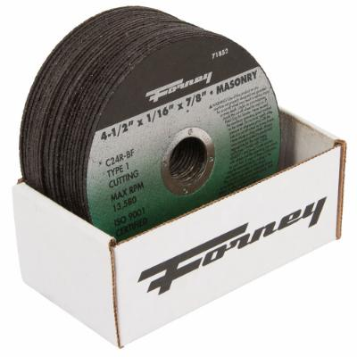 "Box of 25 Forney 71852 (4-1/2"" x 1/16"" Cutting Wheel)"