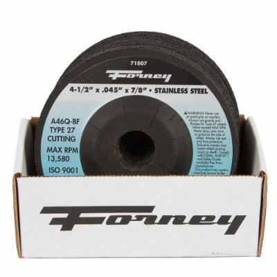 "Box of 20 Forney 71807 (4-1/2"" x .045"" Cutting Wheel)"