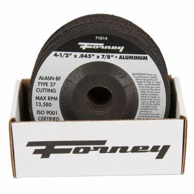 "Box of 20 Forney 71814 (4-1/2"" x .045"" Cutting Wheel)"