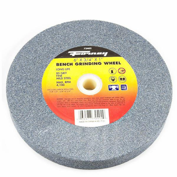 Prime Bench Grinding Wheel 6 X 3 4 X 1 Forney Industries Gmtry Best Dining Table And Chair Ideas Images Gmtryco