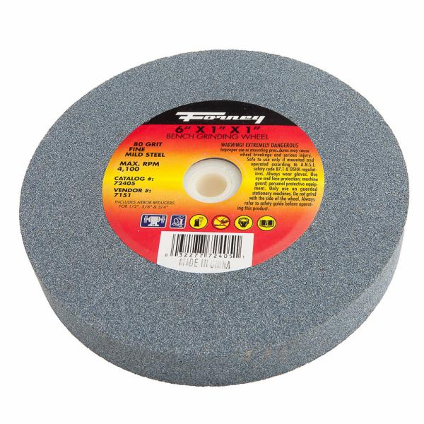 Wondrous Bench Grinding Wheel 6 X 1 X 1 Forney Industries Andrewgaddart Wooden Chair Designs For Living Room Andrewgaddartcom