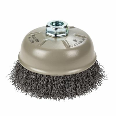 "Cup Brush Crimped, 5"" x .012"" x 5/8""-11"
