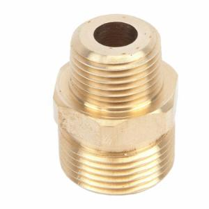 Screw Nipple, M22M x 3/8