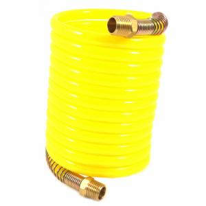 Recoil Air Hose Yellow, 1/4