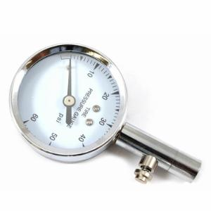 Dial Tire Gauge, 10-60 PSI