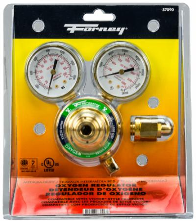 "250 Series Oxygen Regulator, 2"" Side Mount"