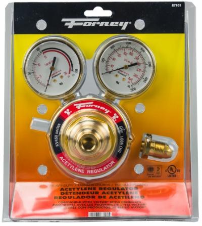 "450 Series Acetylene Regulator, 2-1/2"" Side Mount"