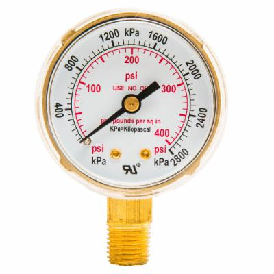 "Regulator Gauge, 2"", 0-400 PSI"