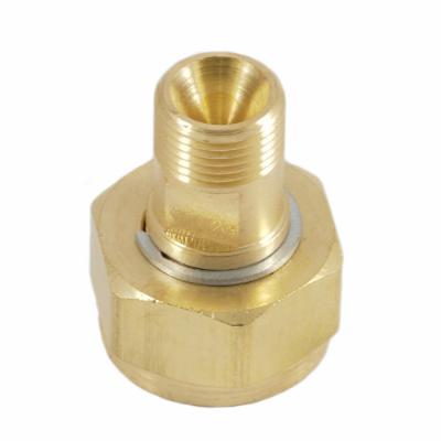Cylinder to Regulator Adapter, CGA-520 to CGA-200