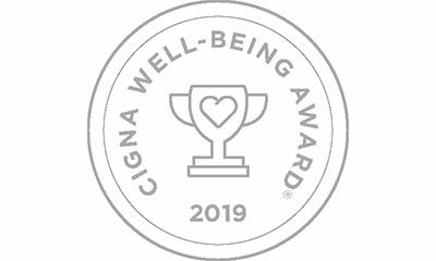 Cigna Well-Being Award Recipient