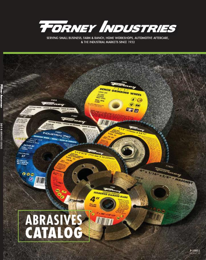 Forney Abrasives Catalog
