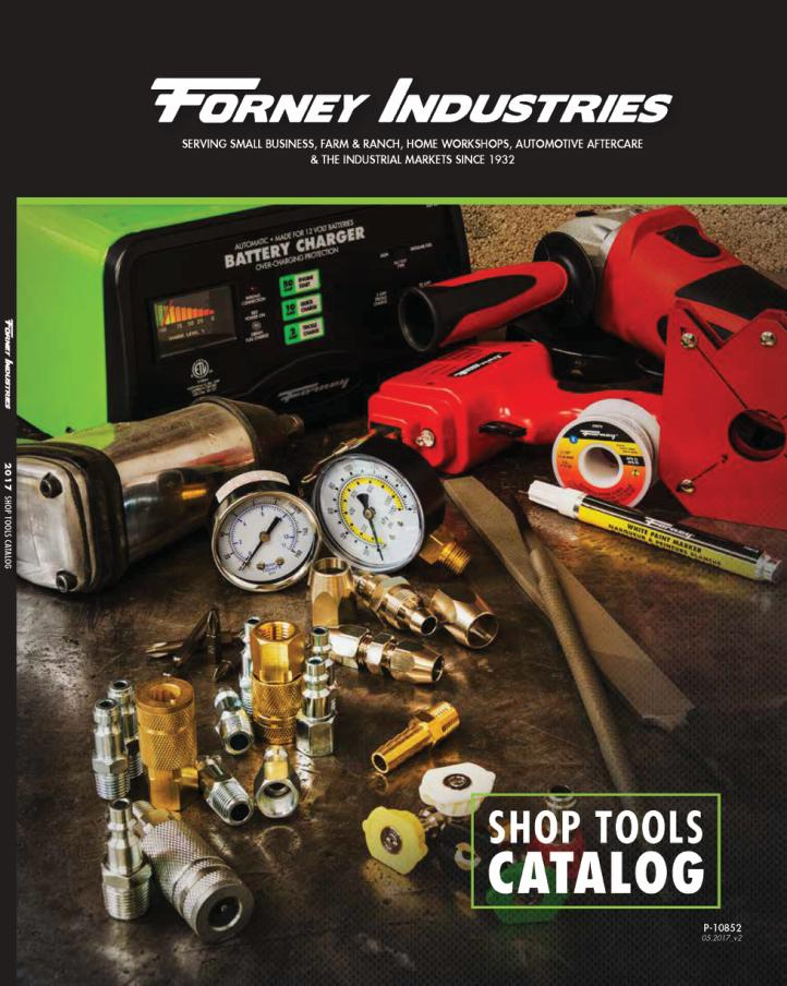 Forney Shop Tools Catalog